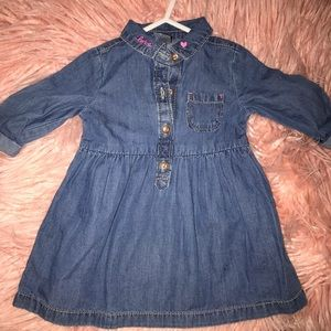 Babygirl Jean dress
